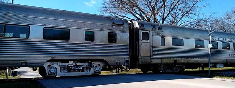 Texas Hill Country Steam Train